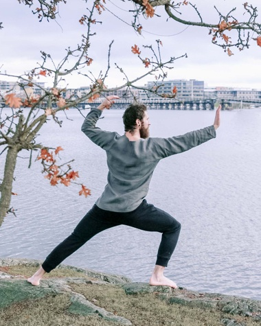 Qi Gong has calming and centring benefits.